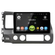 Штатная магнитола CarDroid RD-1911F для Honda Civic 8 4D 10 дюймов (Android 8.0)