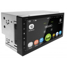 Штатная магнитола CarDroid RD-1005 2DIN Универсальная 7 Slim (Android 8.0)