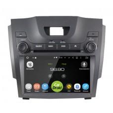 Штатная магнитола CarDroid RD-1306D для Chevrolet Trailblazer / S10 / Isuzu D-Max 2 (Android 9.0) DSP